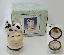 Madame Alexander Dolls  - Cow Jumped Over the Moon Porcelain Hinged Box