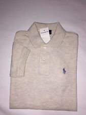 NEW WITH TAGS POLO RALPH LAUREN BOYS S/S POLO SHIRTS- SIZES- 5/6/7/SM /M / L /XL