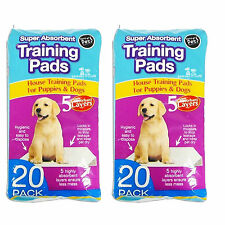 40 x Premium Puppy Dog House Super Absorbent Training Pads Wee