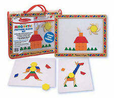 Melissa & Doug Magnetic Pattern Block Kit #3590 BRAND NEW