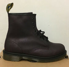 DR. MARTENS 1460 PURPLE CRACKLE SUEDE   LEATHER  BOOTS SIZE UK 8