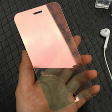 For iPhone 6s 7 Plus 3D Mirror Effect Temper Glass Screen Film Protector Guard