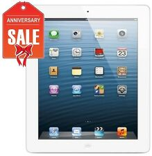 Apple iPad 4th Gen 32GB, Wi-Fi + 4G Cellular (Unlocked), 9.7in - WHITE (R-D