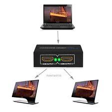 2 Uscita 1 Input HDMI Splitter Amplificatore 2 Vie Scatola Di Scambio Hub Per