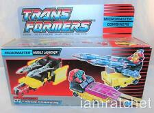 Transformers Original G1 Micromaster Missle Transport Complete w/ Box Unused MIB