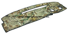 NEW Realtree AP Camo Camouflage Dash Mat Cover / FOR 1995-96 CHEVY & GMC TRUCK