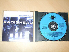 Radiohead - My Iron Lung (CD) 8 Tracks - Made in Italy - Nr Mint - Fast Postage