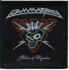 "Gamma Ray ""Skeletons and Majeties"" Patch/Aufnäher 602040 #"