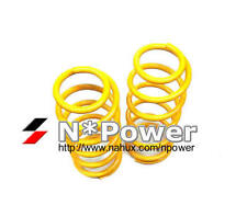 KING COIL SPRING PAIR FRONT FOR NISSAN X-TRAIL XTRAIL T31 10/2007- 30MM RAISED