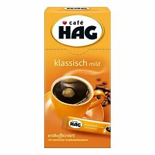 Cafe HAG Classic MILD - Decaf Instant Coffee -SINGLES - 18g- Made in Germany