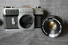 Canon Canonflex RM SLR camera / Super Canonmatic R lens 50mm/F1.8