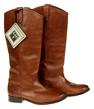Frye Women's Melissa Button Boot Brown Size 9.5M Pre Owned