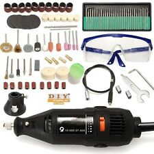 DIY Crafts®121pc Variable Speed Electric Rotary Grinder Polishing Sanding Bitso