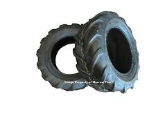 TWO New 23X8.50-12 Deestone Tractor Lug  Tires 6 ply