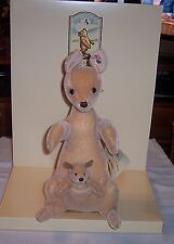 Steiff KANGA & ROO Winnie The Pooh Collection Limited Edition Year 2002 BOXED