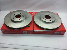 2-Brembo Front Disc Brake Rotor 26310 for Subaru Forester Impreza Legacy Outback