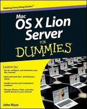 Mac OS X Lion Server For Dummies (For Dummies (ComputerTech))