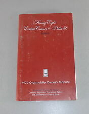 Owner's Manual / Betriebsanleitung Oldsmobile 98 / Custon Cruiser / Delta 88