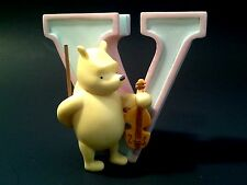 Michel & Co Disney Classic Winnie The Pooh Alphabet Letter V Violin