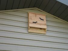 Bat House Nesting Box All Natural Red Cedar Single Chamber Mosquito Control
