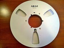 1 x AKAI TONBANDSPULE METAL TONBAND SPULE ALU 26,5 cm REEL TO REEL