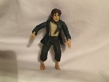 2001 Lord of the Rings The Fellowship of the Ring Sword Attack Pippin Figure