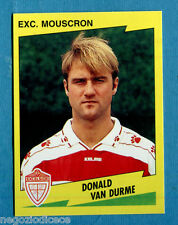 FOOTBALL 98 BELGIO Panini -Figurina-Sticker n. 283 - VAN DURME -EXC MOUSCRON-New