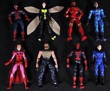 Marvel Legends & Pre Legends Figure Lot Wolverine Logan Iron Man Spider-Man Wasp