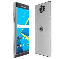 Skinomi Brushed Aluminum Skin+Clear Screen Protector Film for BlackBerry Priv