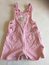 Baby Girls Clothes 0-3 Months - Pretty Dungarees Outfit -