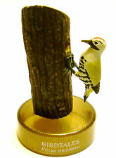 RARE Japan Kaiyodo Birdtales Japanese Woodpecker With Eggs Nest Bird Figure