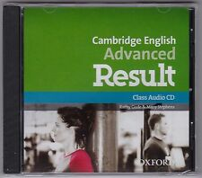 CAMBRIDGE ENGLISH ADVANCED (CAE) RESULT Class Audio CDs @NEW@