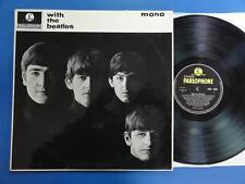 THE BEATLES  WITH THE BEATLES Parl 63 -5N-6N UK orig LP very nr EX-/VG