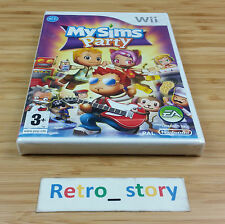 Nintendo Wii My Sims Party NEUF / NEW PAL