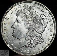 1921 P, Morgan Silver Dollar, Uncirculated Condition, Free Shipping in USA C3730
