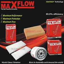 Fit Nissan Navara D40 TD YD25 2.5L Air Cabin Oil Filter Service Kit Maxflow® Kit