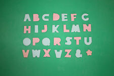 Alphabet Cookie Cutters, 27 Plastic Letters, Cake Decorating, Sugarcraft, Baking