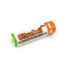 10 pcs AA 3200mAh NIMH Rechargeable Battery HR6 LR06 2A UltraCell Plus Orange