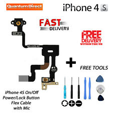 NEW Replacement On/Off Power/Lock/Button/Switch Cable + FREE Tools FOR iPhone 4S
