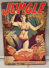 Spring 1953 Jungle Stories Pulp Magazine The Silver Witch Ki-Gor NO Reserve