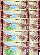 LOT Chatham Islands, 10 x 1 Koha, 2013 (2014), Polymer, UNC