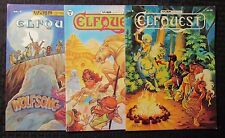 1979 ELFQUEST #4 5 3rd Printing #8 1st Lot of 3 VF Warp Graphics - Wendy Pini
