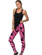 Woman's Nike Legend Floe Gym/Running Pant Tight Legging Pink & Black