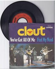 """Clout, You've got all of me, G/VG,  7"""" Single 999-104"""