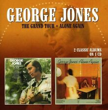 George Jones - Grand Tour / Alone Again [New CD]