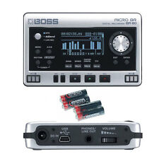 Boss Micro BR BR-80 Digital Recorder w/4 Universal Electronics AA Batteries New