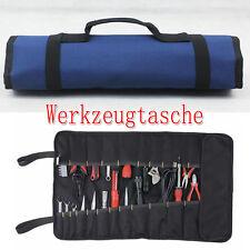 Profi Werkzeugtasche Werkzeugrolltasche Rolltasche Werkzeug Tasche 22 Fächer
