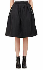 New Acne Studios Women`s Pimlico Quilted Puffer Skirt Black Oversized Size XS 32