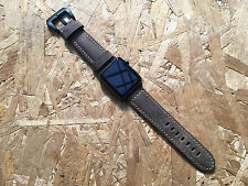 Quality Vintage Rusty Brown Leather Watch Strap  Band for Apple Watch 42mm A1