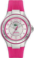 Women's Lacoste Acapulco Pink Silicone Band Watch 2000759